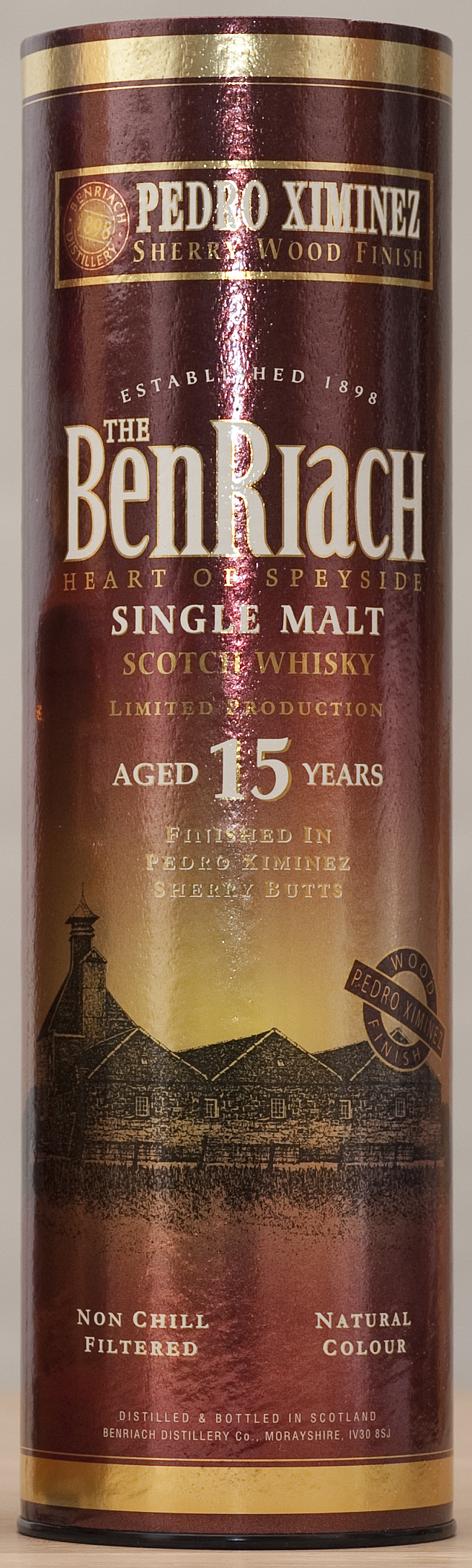 Billede: benriach 15 px sheery wood finish - tube.jpg