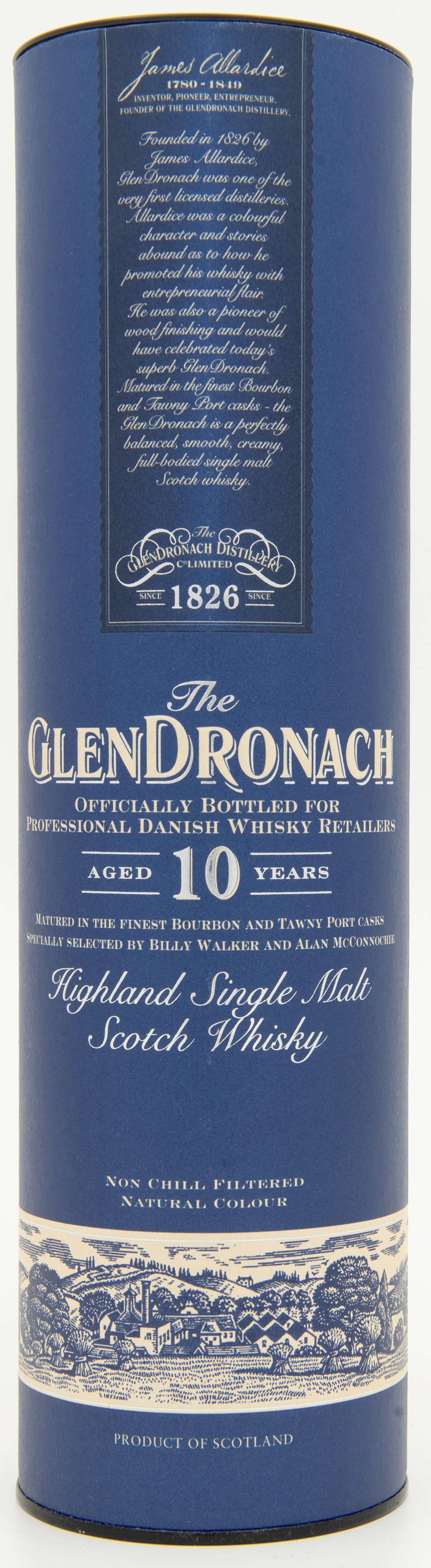 Billede: DSC_4819 - The Glendronach 10 - tube front.jpg