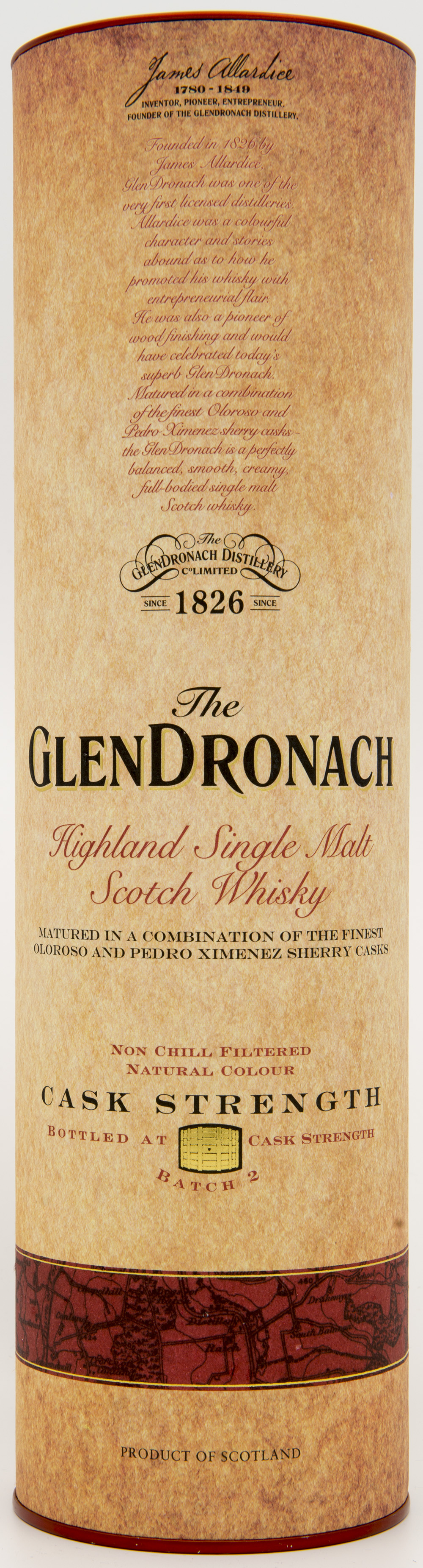 Billede: DSC_4838 - The Glendronach Cask Strength Batch 2 - tube front.jpg