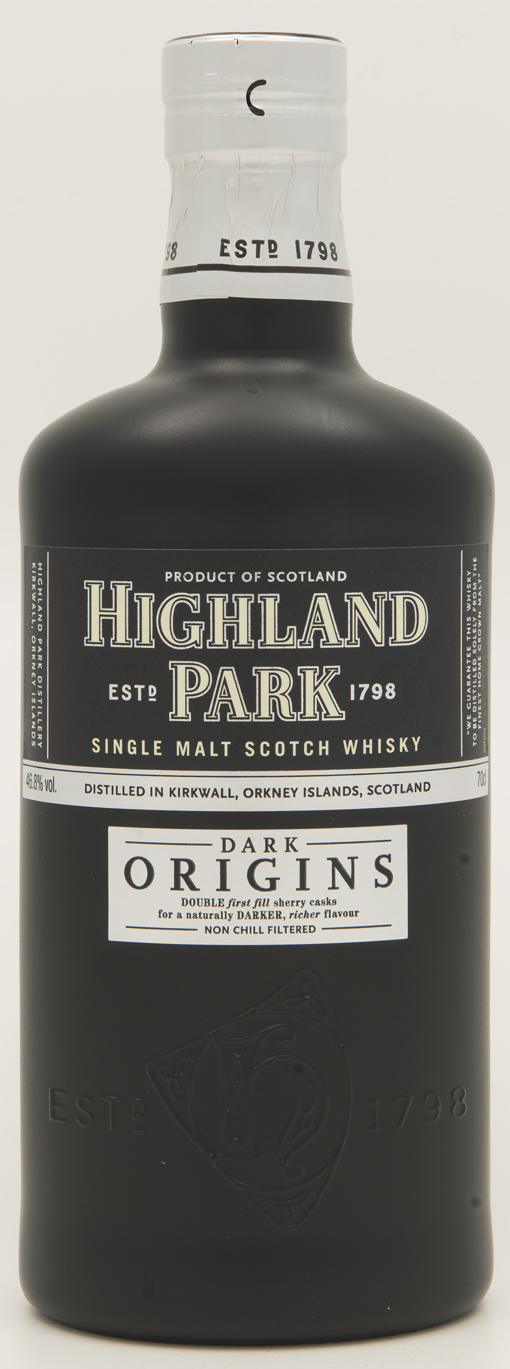 Billede: DSC_6438 Highland Park - Dark Origins - bottle front.jpg