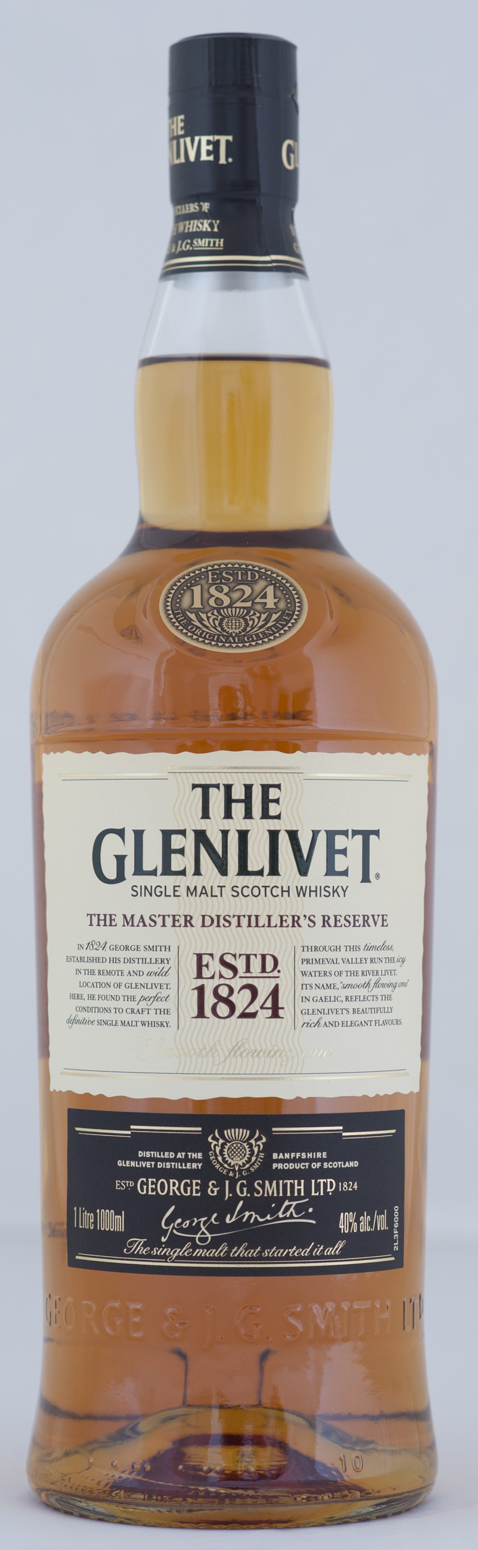 Billede: _DSC5603 The Glenlivet - The Master Distiller's Reserve - bottle.jpg