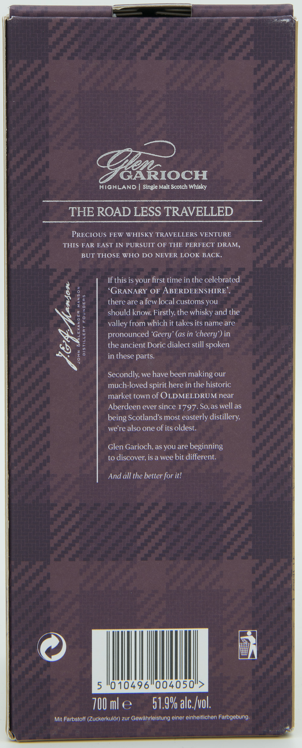 Billede: DSC_6556 Glen Garioch 15 - The Renaissance 1st chapter - Box back.jpg