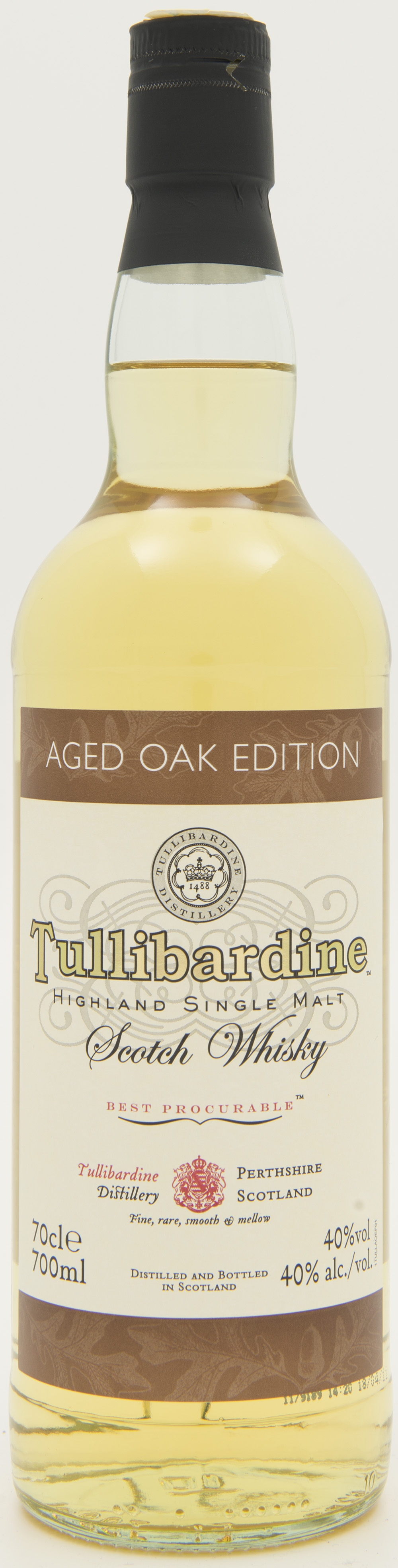 Billede: DSC_3735 Tullibardine Aged Oak Edition - bottle front.jpg