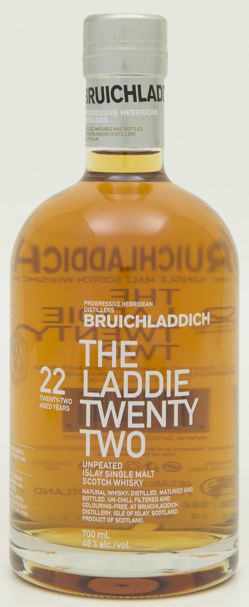 Billede: DSC_0772 - Bruichladdich The Laddie Twenty Two - bottle front.jpg