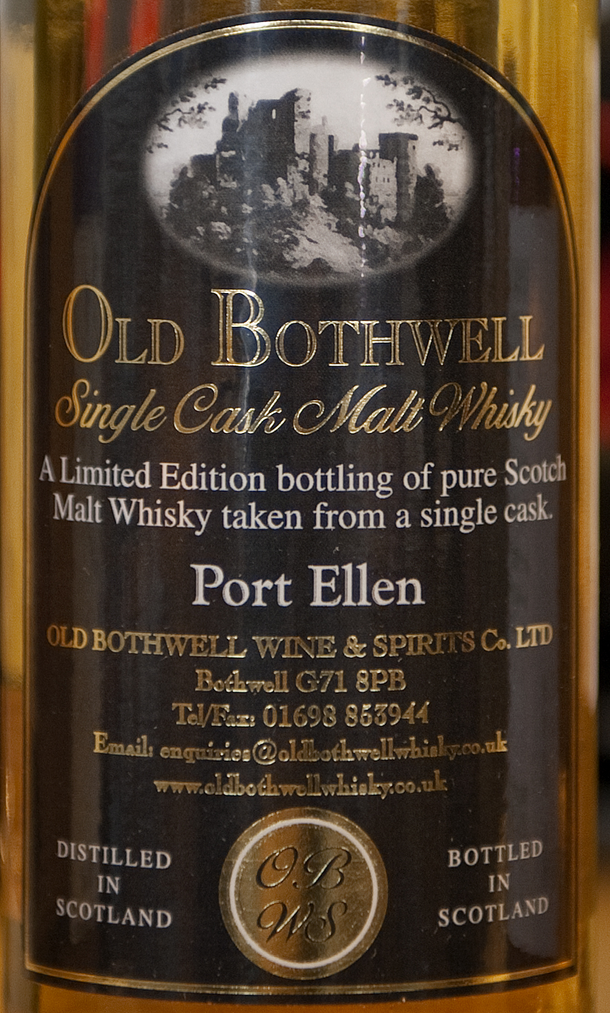 Billede: port ellen - old bothwell - front label.jpg