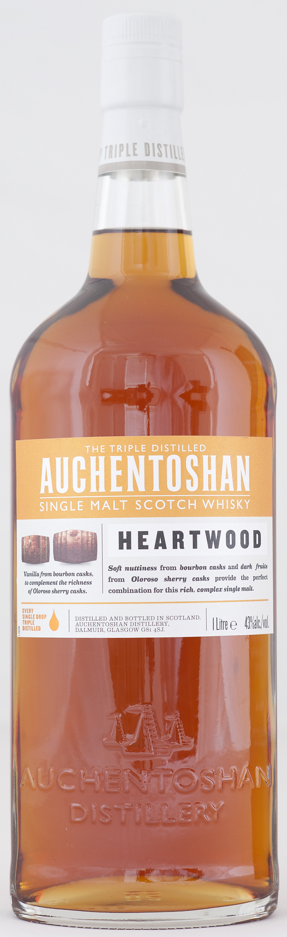 Billede: _DSC5646 Auchentoshan Heartwood - bottle.jpg