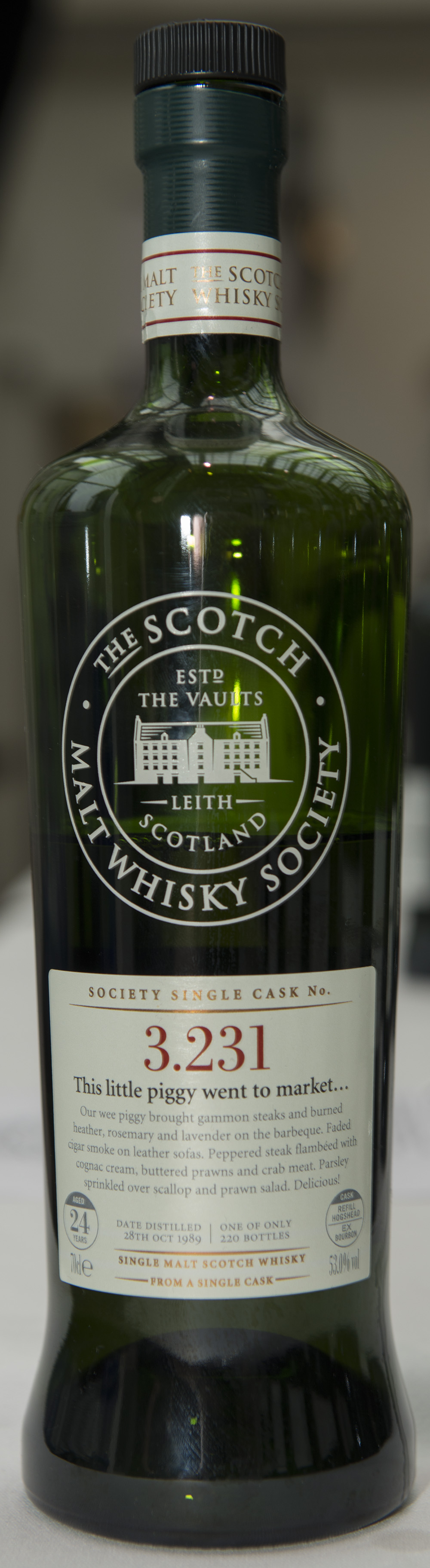 Billede: DSC_1262 - SMWS 3.231 - This little piggy went to market.jpg