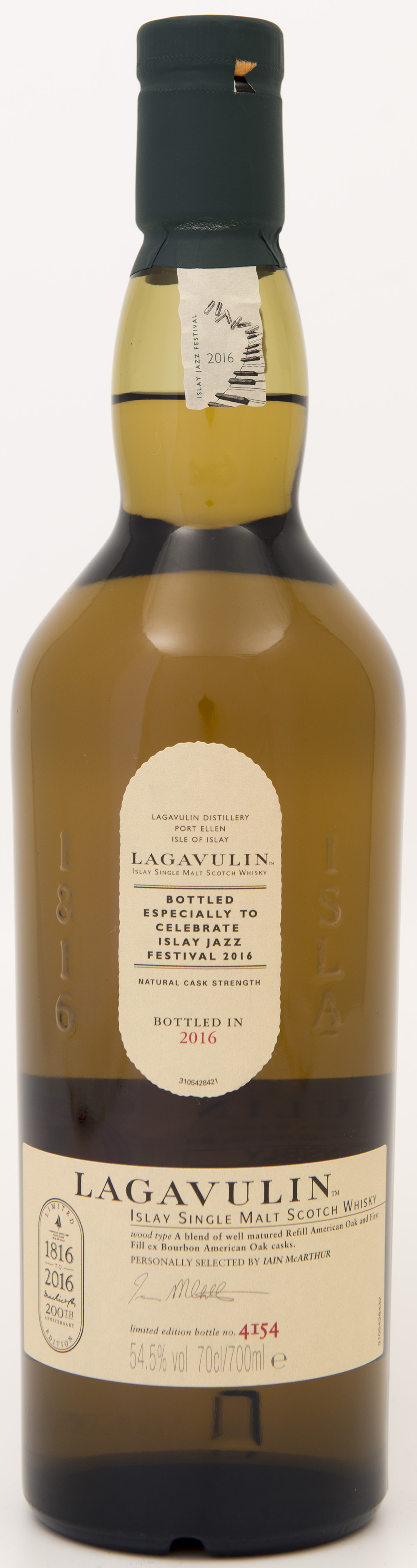 Billede: DSC_3241 - Lagavulin Islay Jazz Festival 2016 - bottle front.jpg
