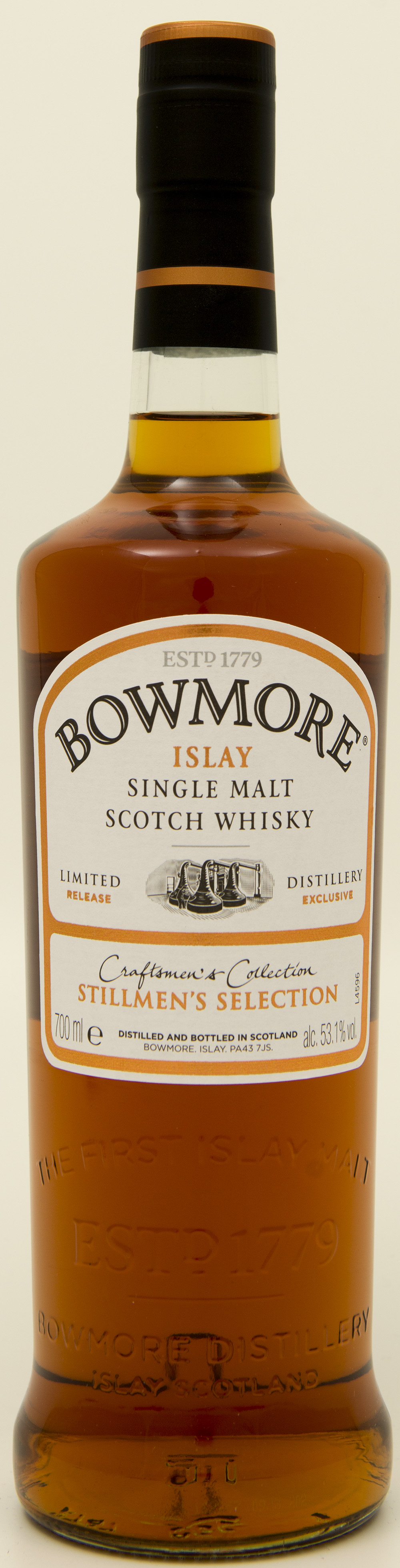 Billede: DSC_3223 - Bowmore Stillmen's Selection - bottle front.jpg