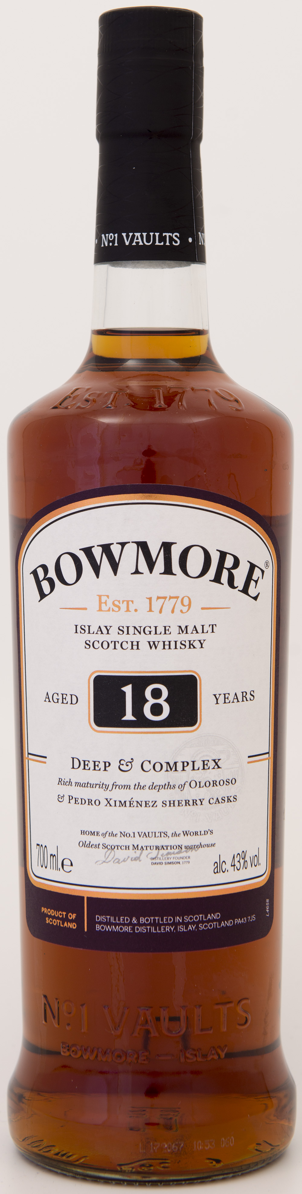 Billede: DSC_3304 - Bowmore 18 Deep and Complex.jpg