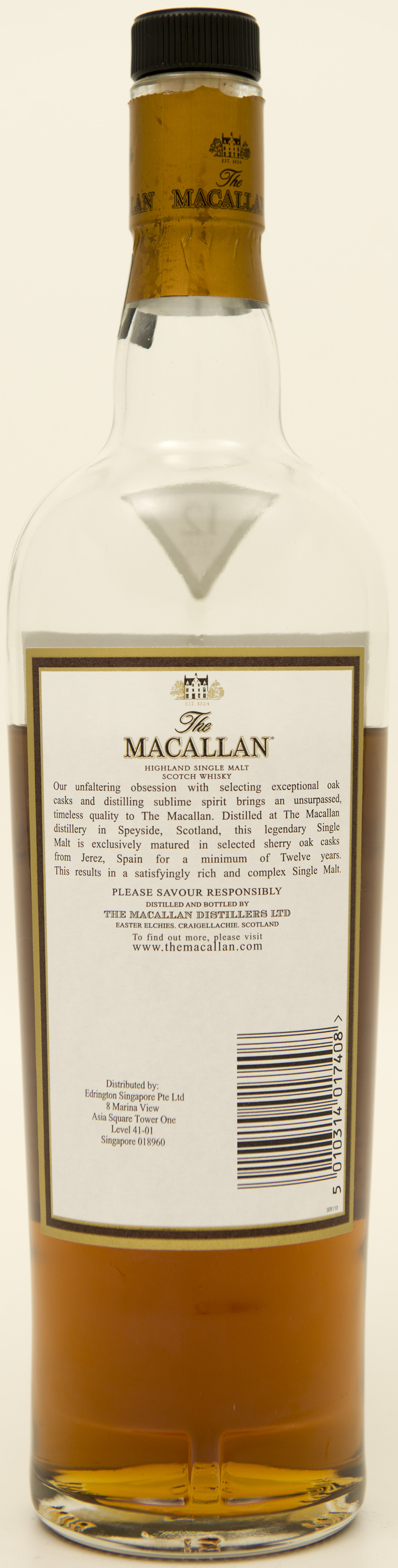 Billede: DSC_3658 - The MacAllan 12 - bottle back.jpg