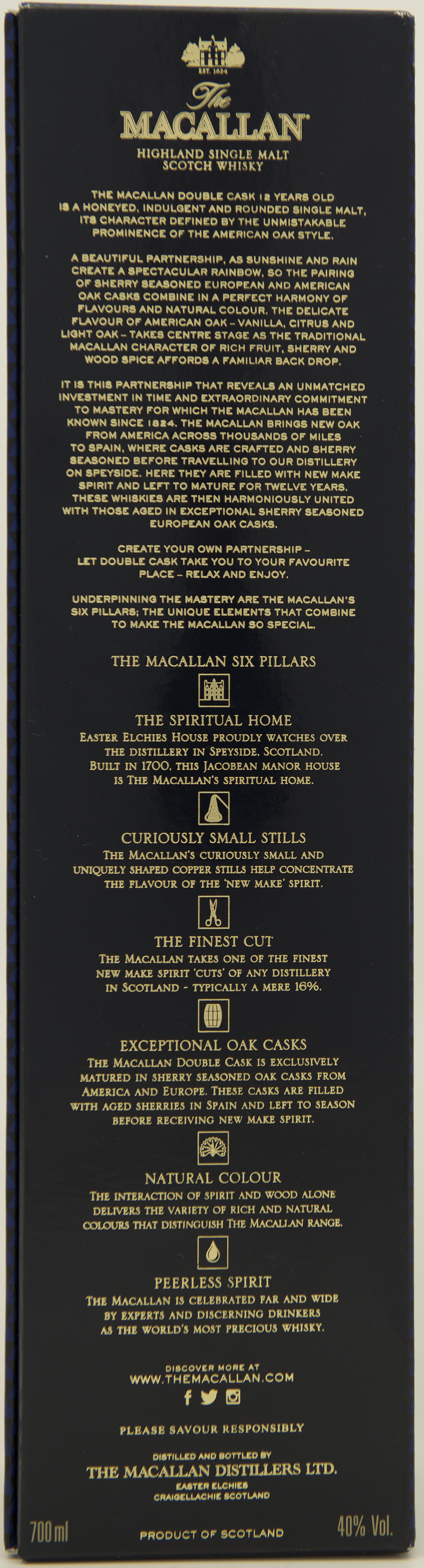 Billede: DSC_3652 - The MacAllan 12 Double Cask - box back.jpg