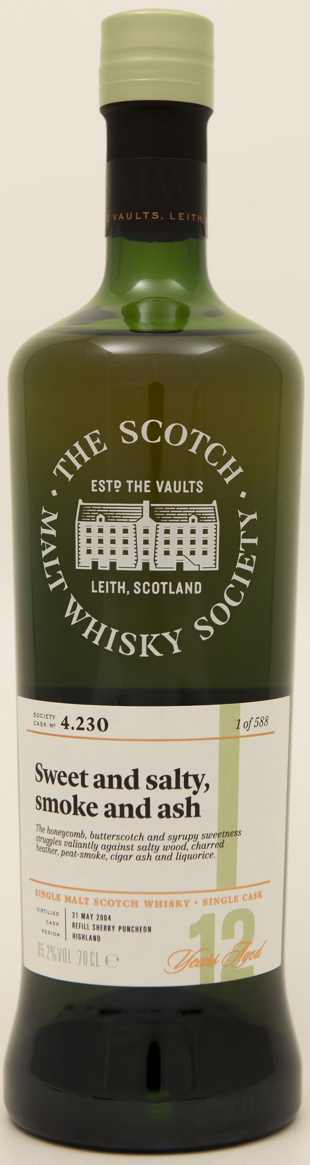 Billede: DSC_3665 - SMWS 4.230 - Sweet and salty, smoke and ash.jpg