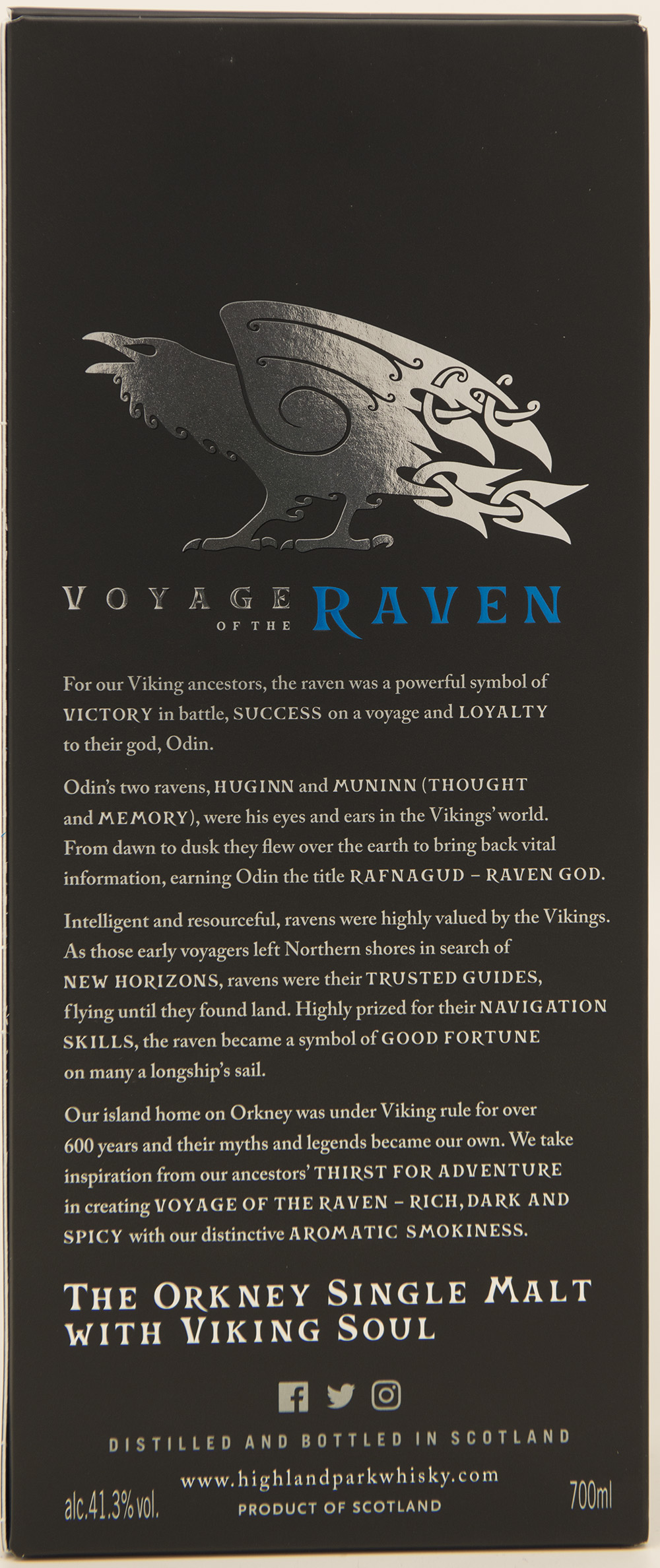 Billede: DSC_3708 - Highland Park - Voyage of the Raven (box back).jpg
