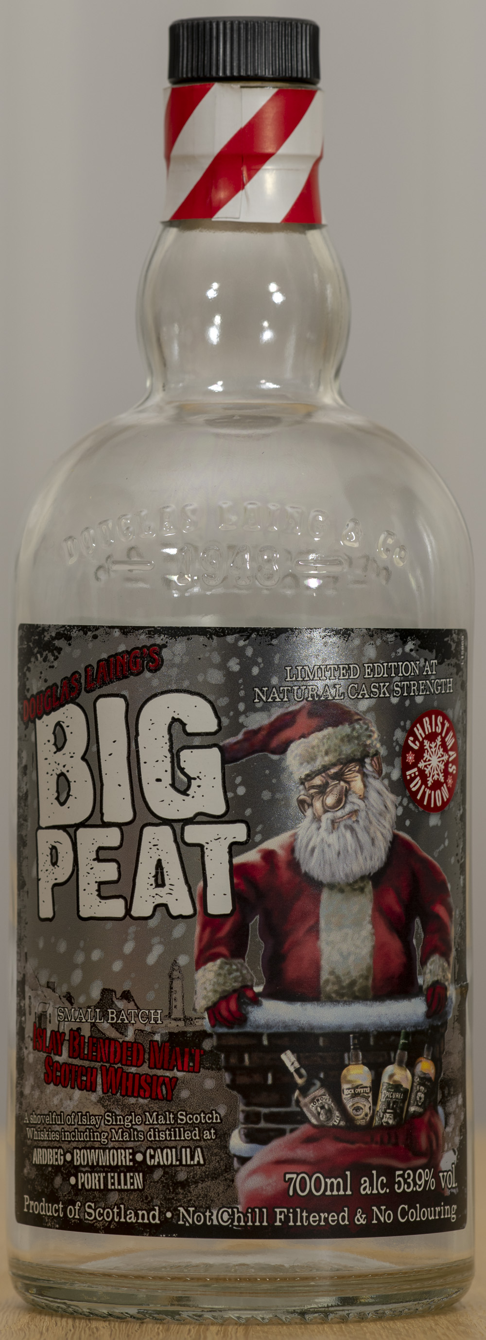 Billede: PHC_1566 - Big Peat Christmas Edition 2018 - bottle front.jpg
