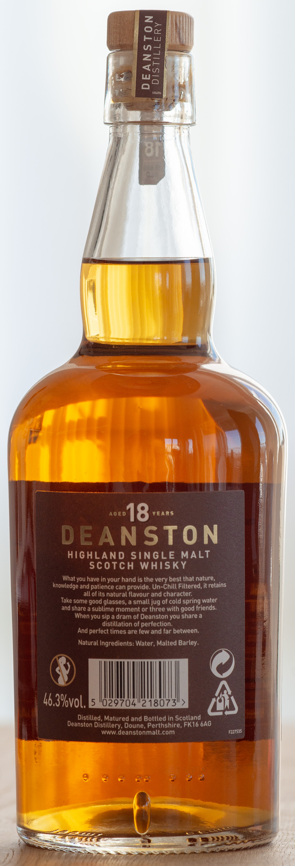 Billede: DSC_6623 - Deanston 18 - bottle back.jpg