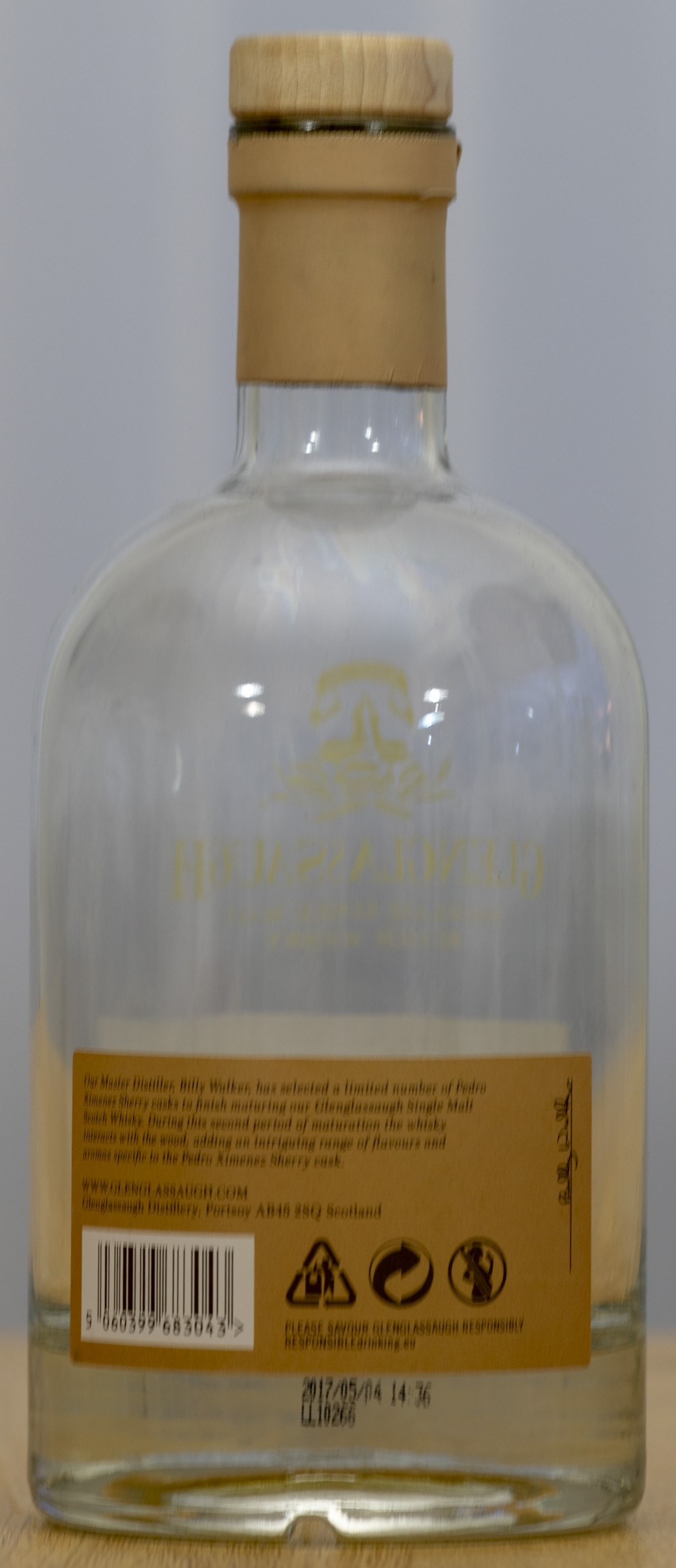 Billede: PHC_1532 - Glenglassaugh - bottle back.jpg