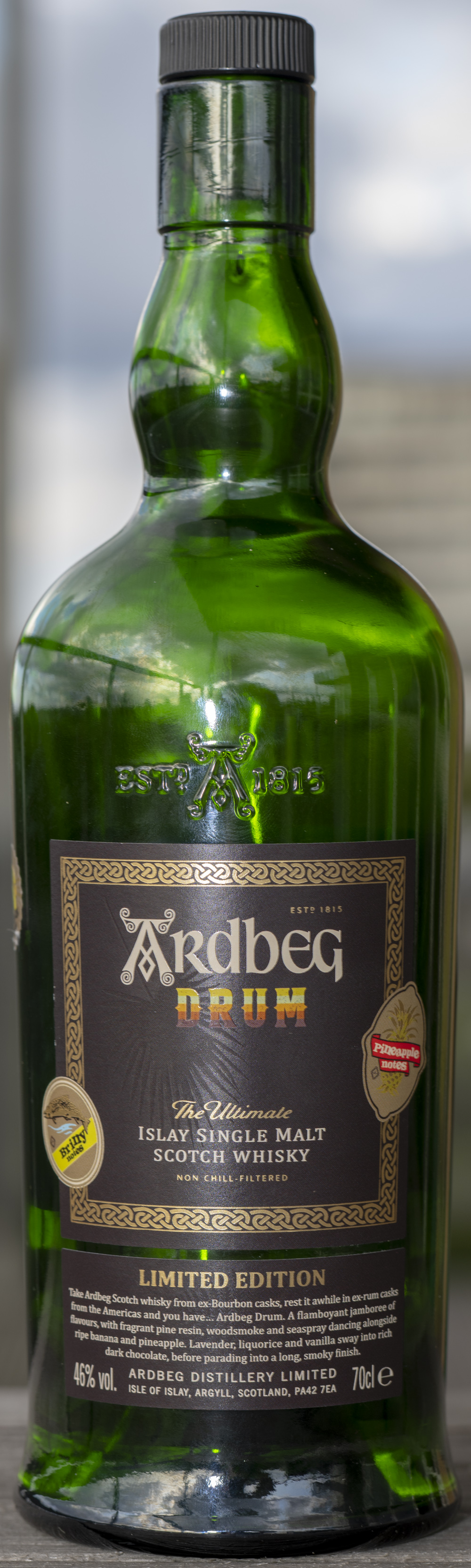 Billede: PHC_1847 - Ardbeg Drum - bottle front.jpg