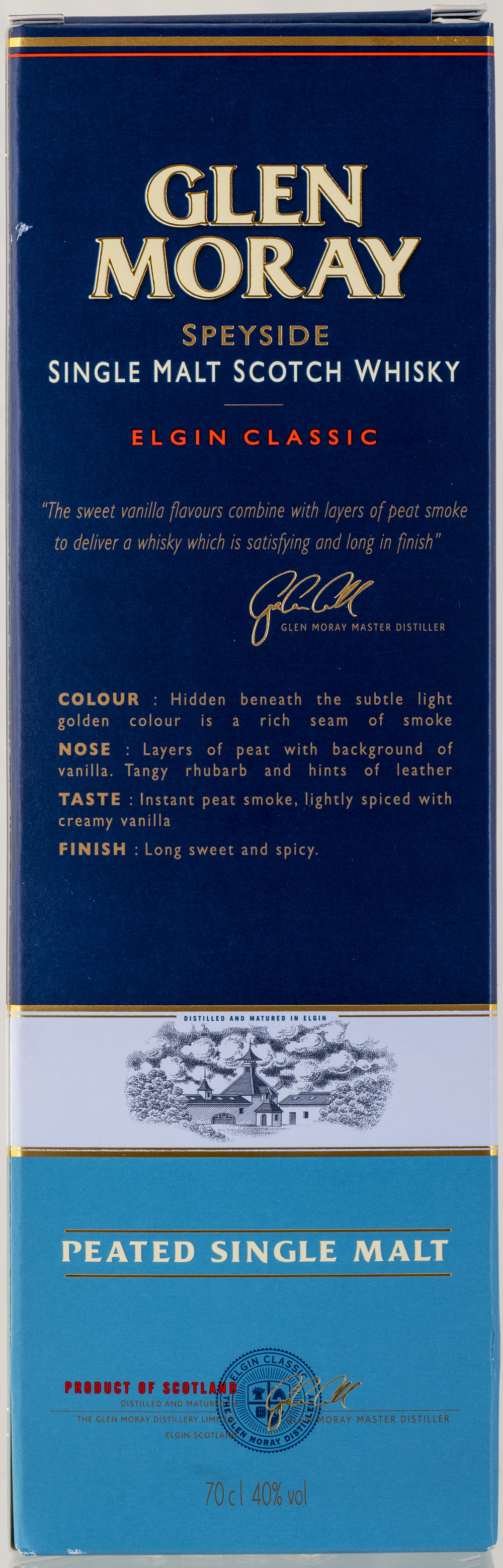 Billede: PHC_2271 - Glen Moray - Elgin Classic Peated - box back.jpg