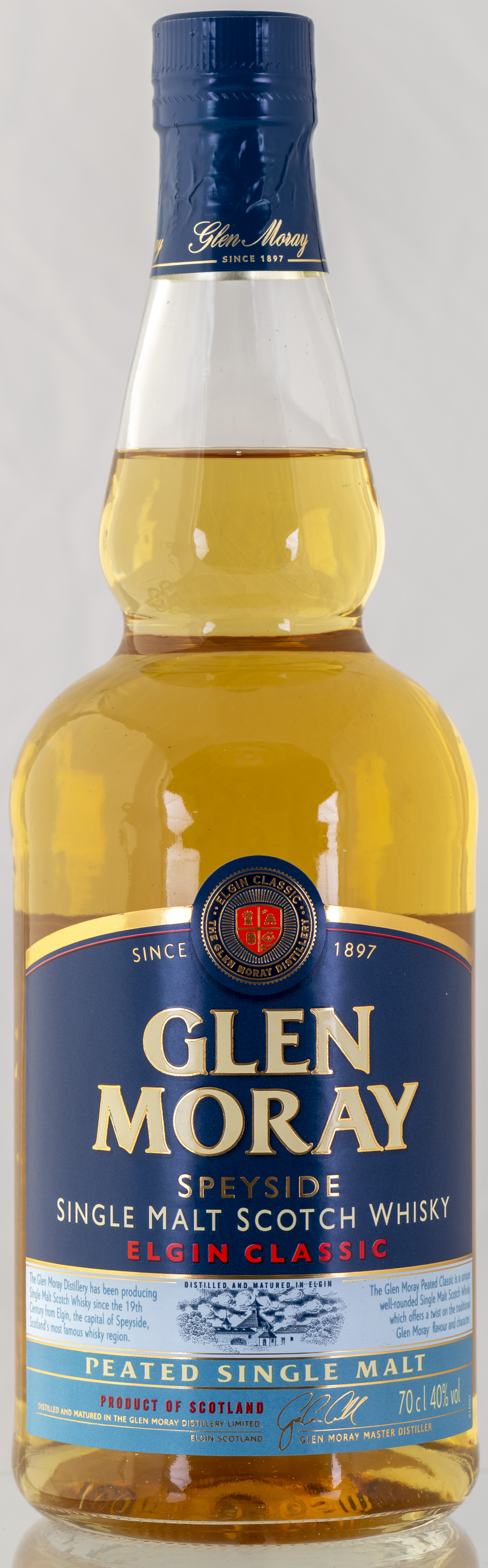 Billede: PHC_2272 - Glen Moray - Elgin Classic Peated - bottle front.jpg