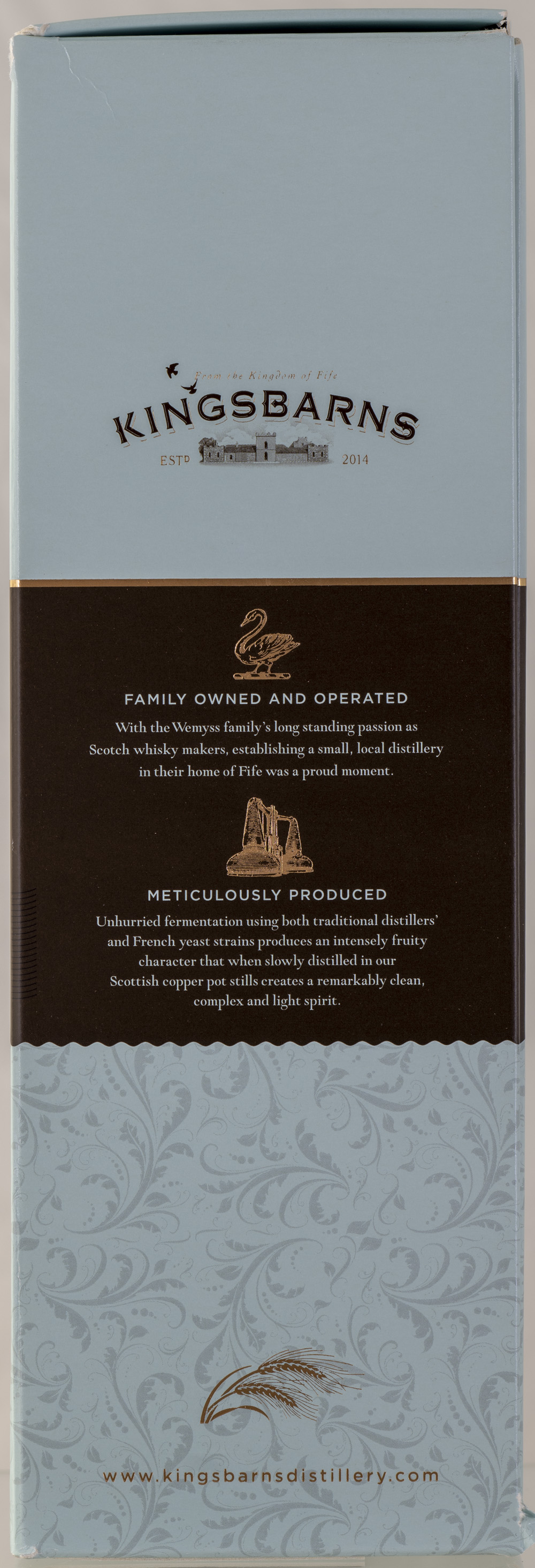 Billede: PHC_2230 - Kingsbarns Dream to Dram - box back.jpg