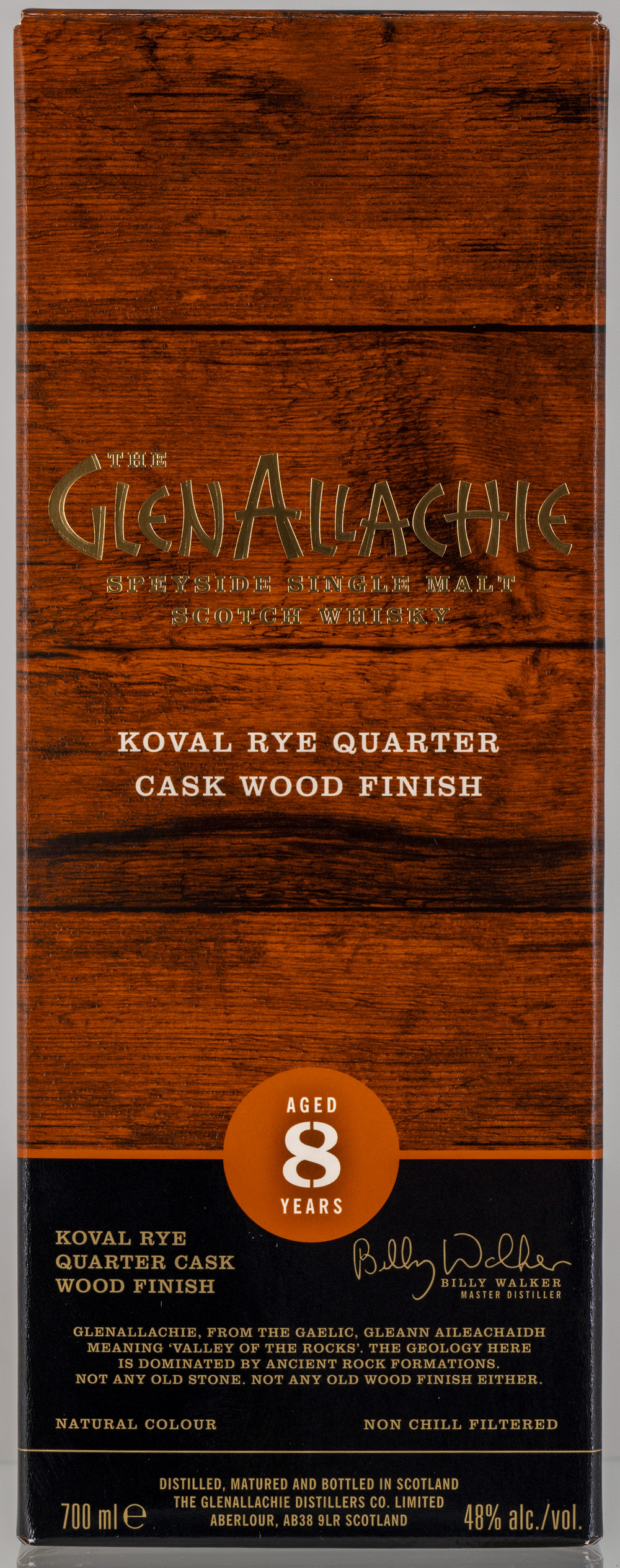 Billede: PHC_2274 - GelAllachie 8 Koval Rye Quarter Cask Wood Finish - box front.jpg
