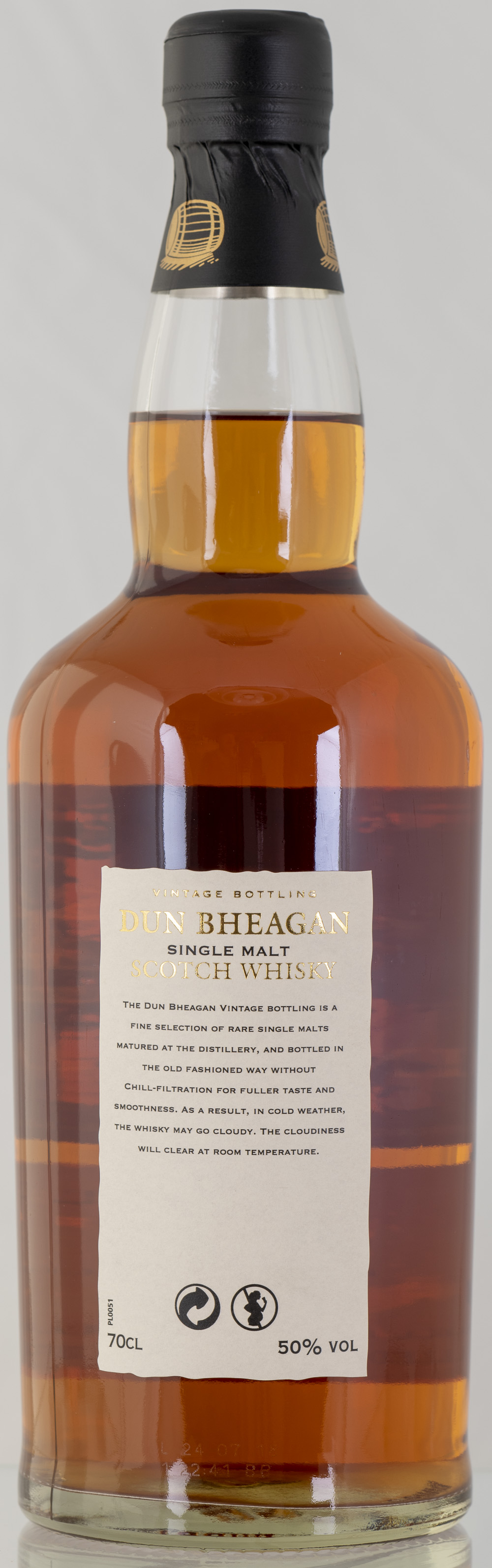 Billede: PHC_2203 - Dun Bheagan Braeval 19 - bottle back.jpg