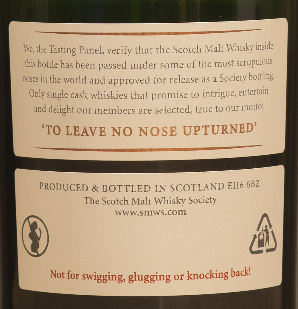 Billede: DSC_0251 SMWS 3.196 - A walk on the wild side - back label.jpg