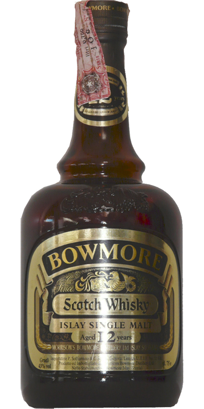 Billede: bowmore 12 - brown bottle.jpg