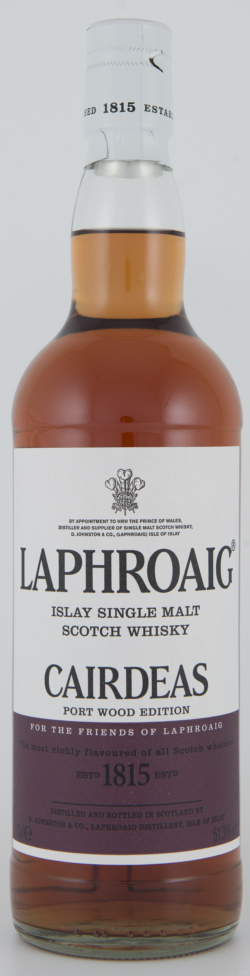 Billede: DSC_3218 Laphroaig Cairdeas Port Wood Edition (Feis Isle 2013) - bottle front.jpg