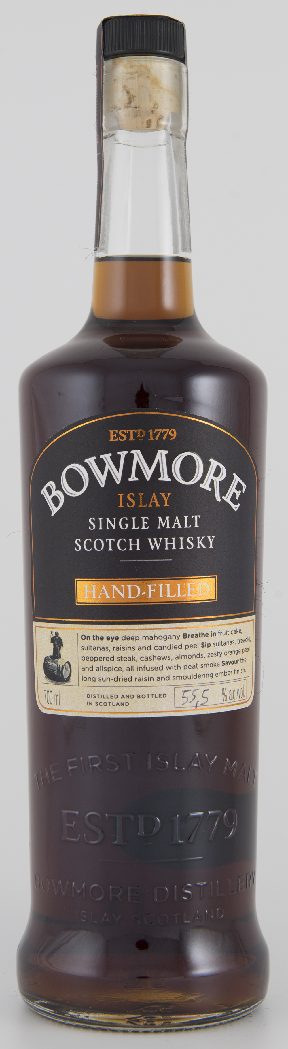 Billede: DSC_3190 Bowmore Hand-Filled - bottle.jpg