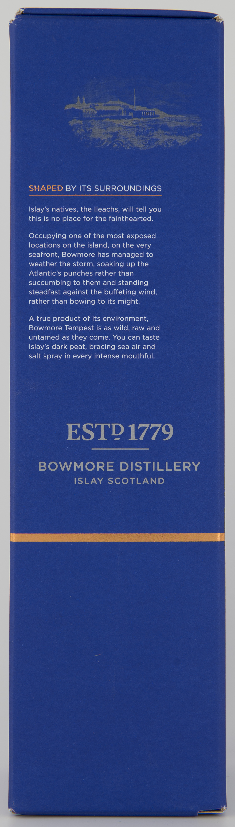 Billede: DSC_3206 Bowmore Tempest Batch IV - box side.jpg