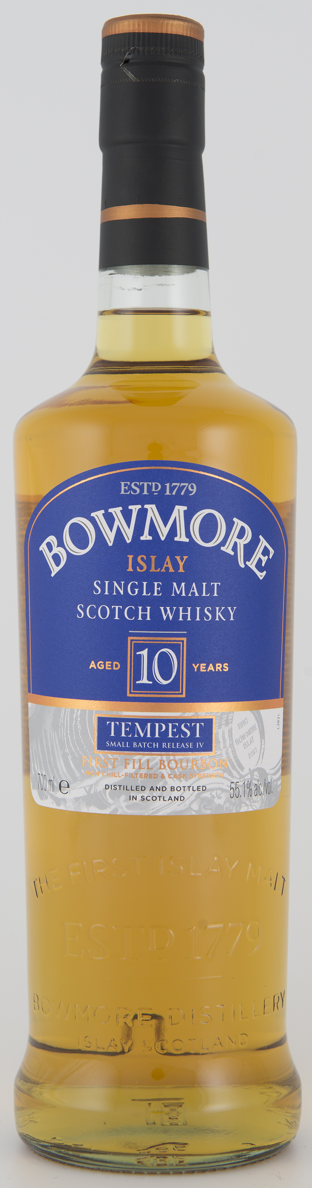 Billede: DSC_3207 Bowmore Tempest Batch IV - bottle front.jpg