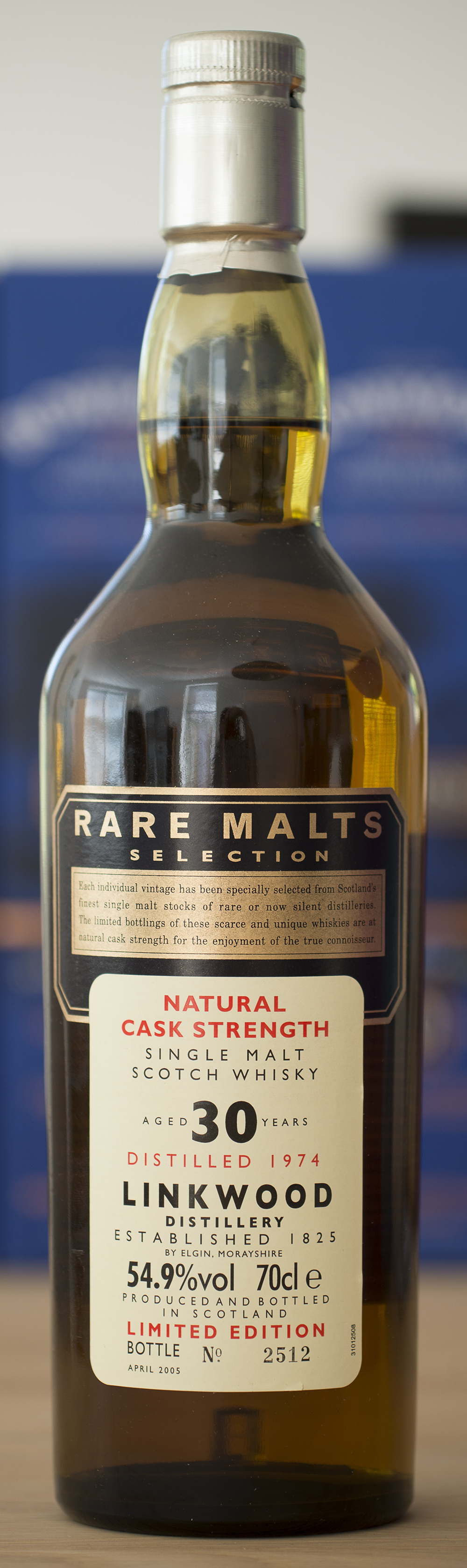 Billede: DSC_3319 Rare Malts - Linkwood 30 - distilled 1974.jpg
