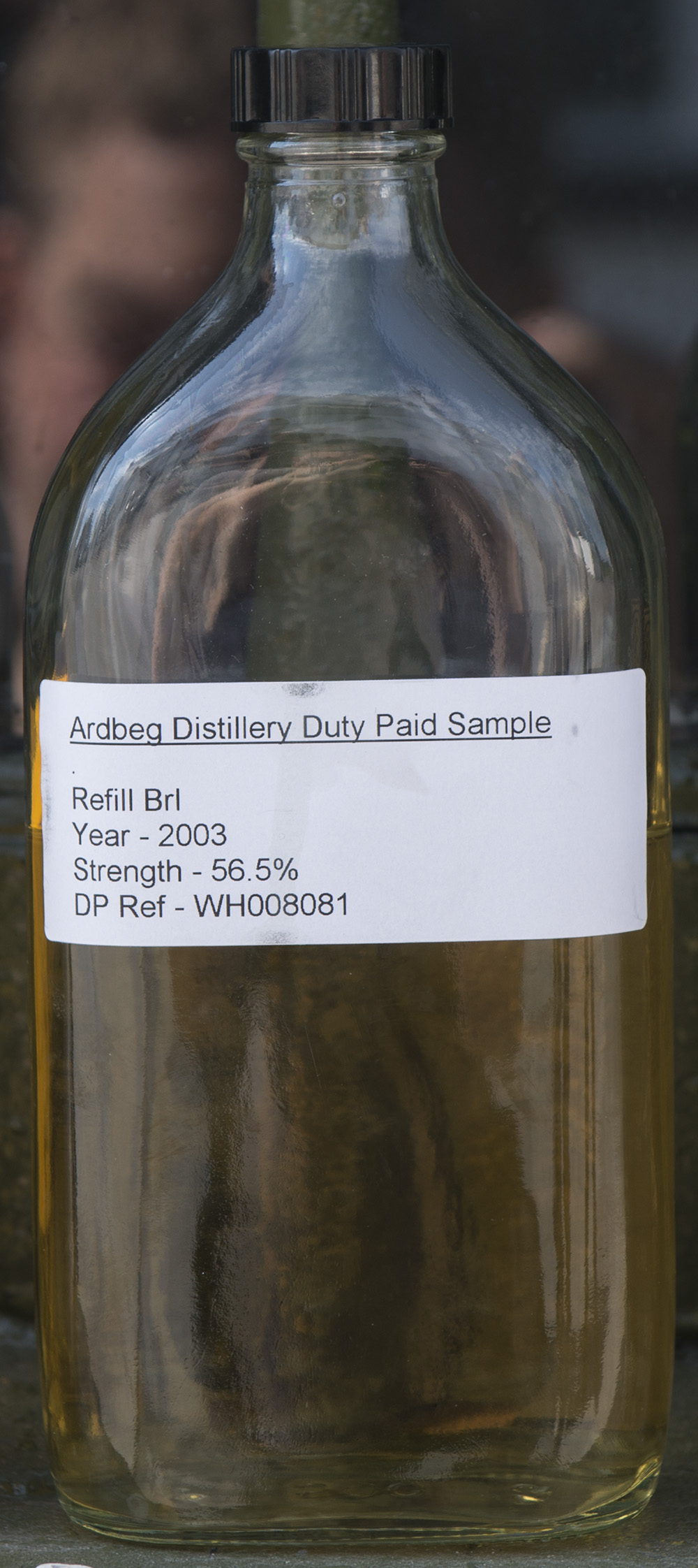 Billede: Ardbeg 2003 - cask sample from refill bourbon cask.jpg