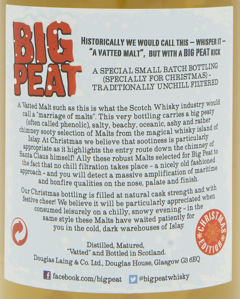Billede: DSC_3668 Big Peat - Christmas Edition 2013 - back label.jpg