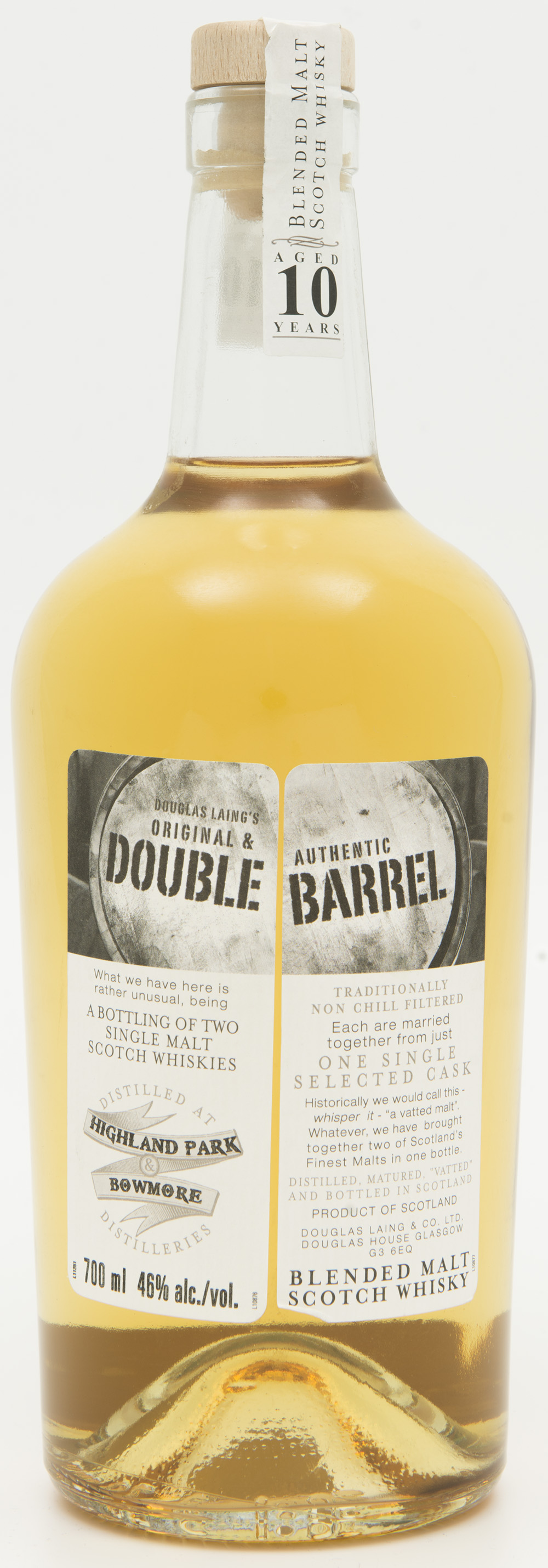 Billede: DSC_3675 Douglas Laing's Double Barrel - Highland Park and Bowmore - bottle.jpg