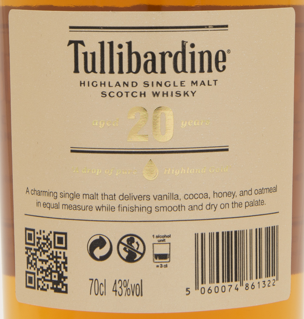 Billede: DSC_3724 Tullibardine 20 - bottle back label.jpg
