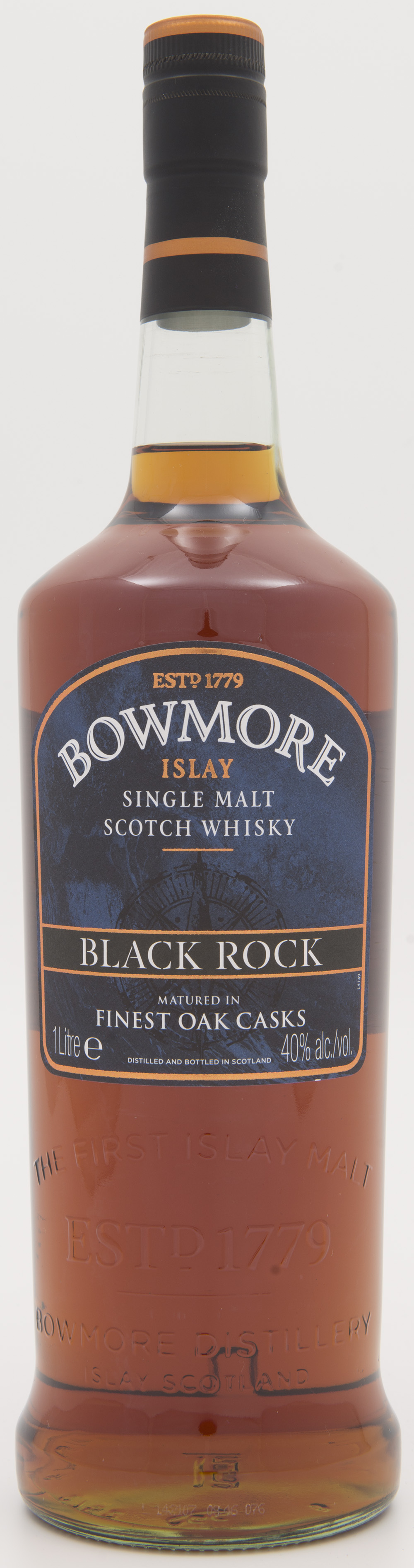 Billede: DSC_3842 Bowmore Black Rock - bottle front.jpg