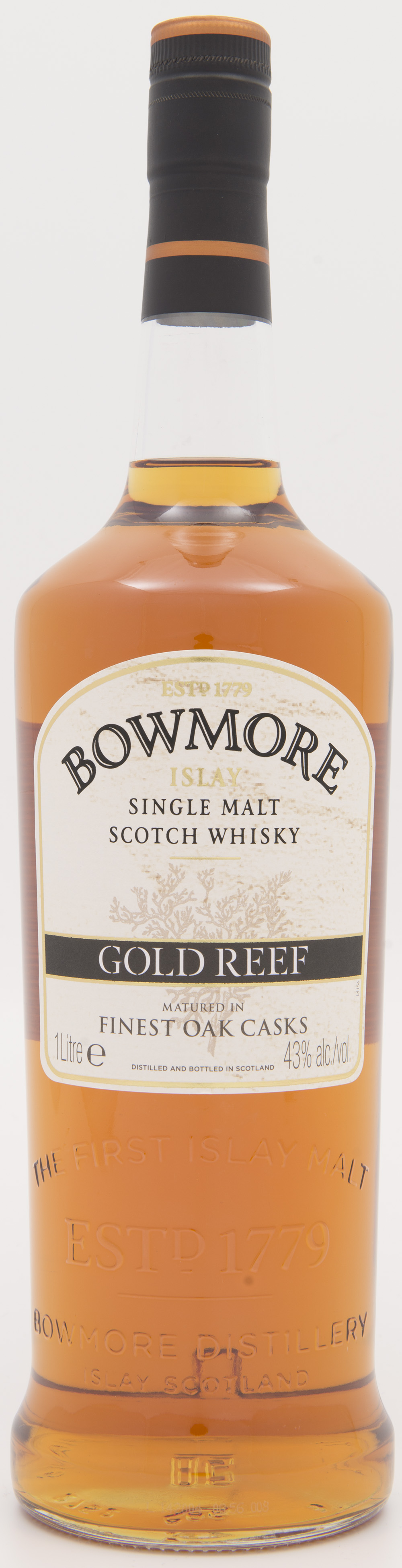 Billede: DSC_3854 Bowmore Gold Reef - bottle front.jpg