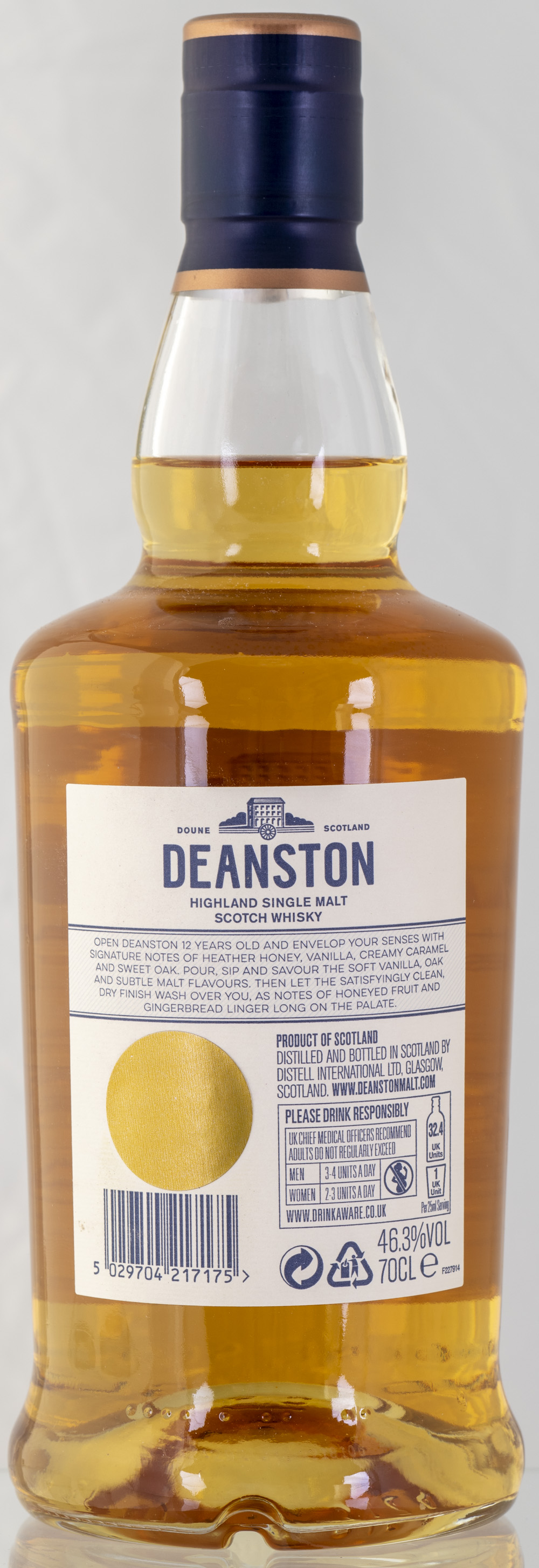 Billede: PHC_2265 - Deanston 12 - bottle back.jpg