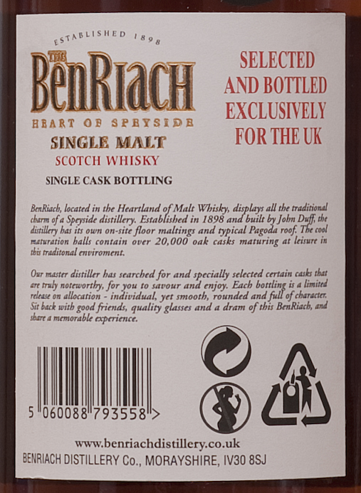 Billede: benriach 1995 px - back label.jpg